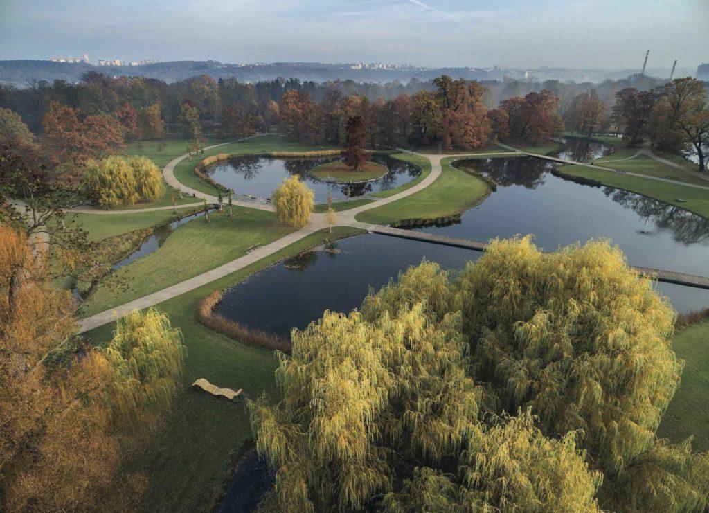 Obnova centrální části Královské obory v Praze